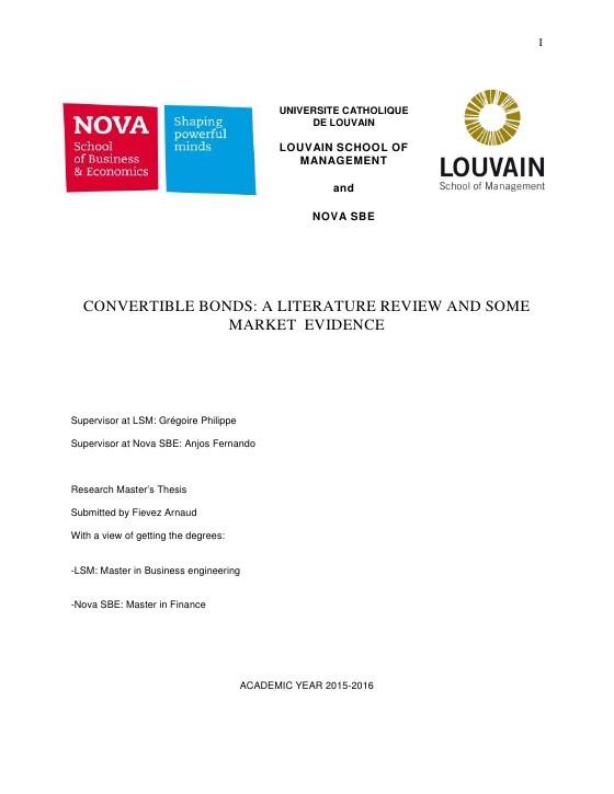 nova sbe master thesis